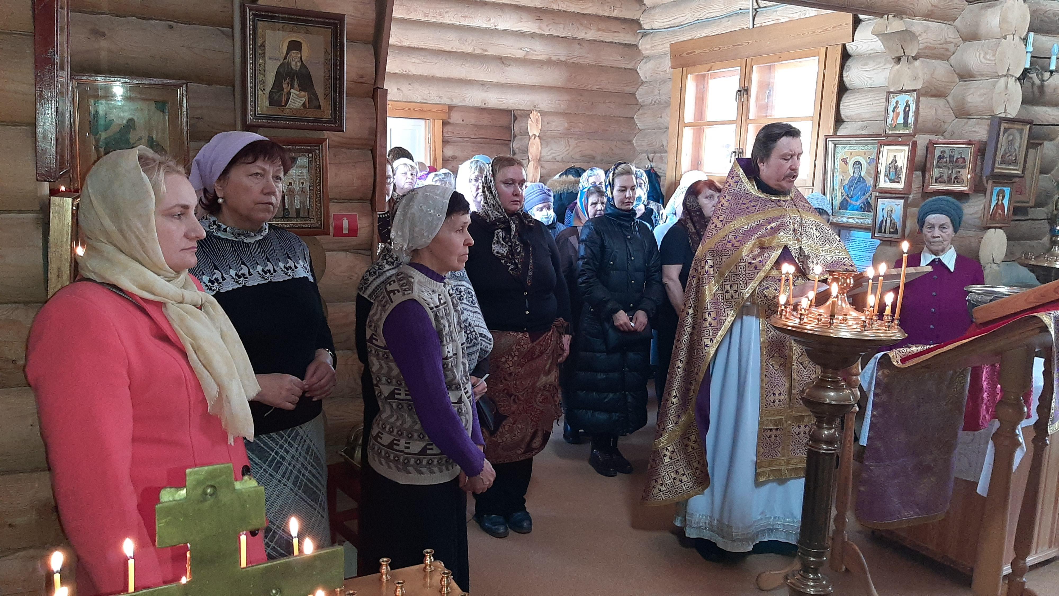 В нашем храме был отслужен молебен против губительного поветрия