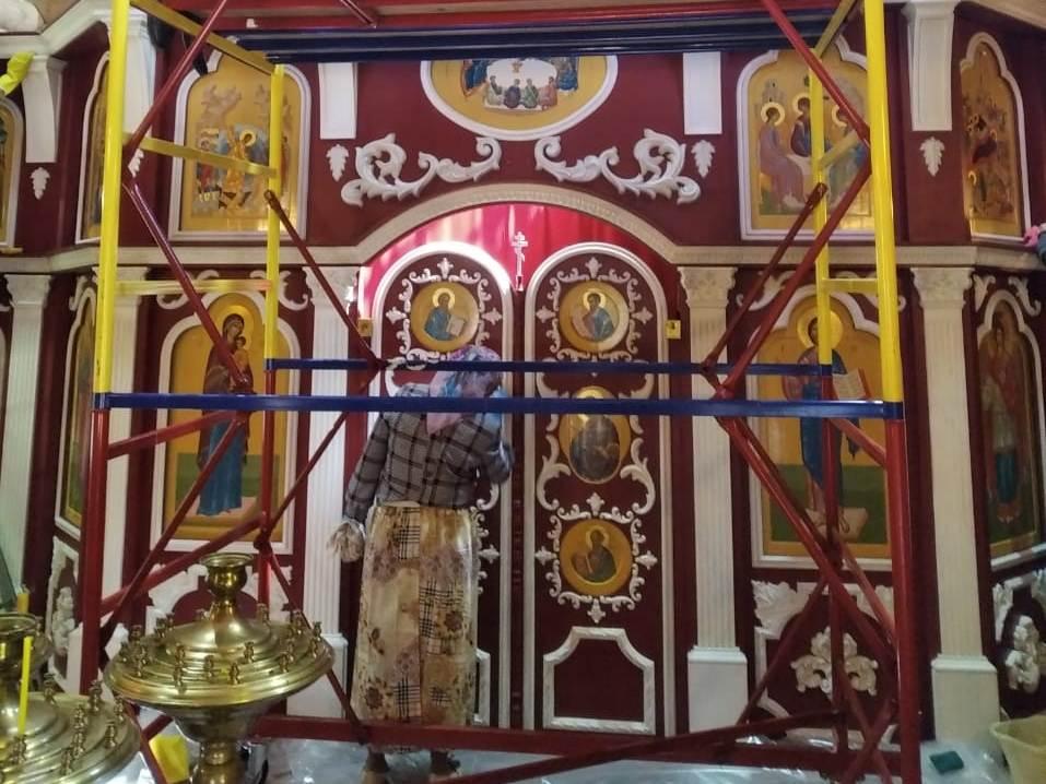 Генеральная уборка в храме