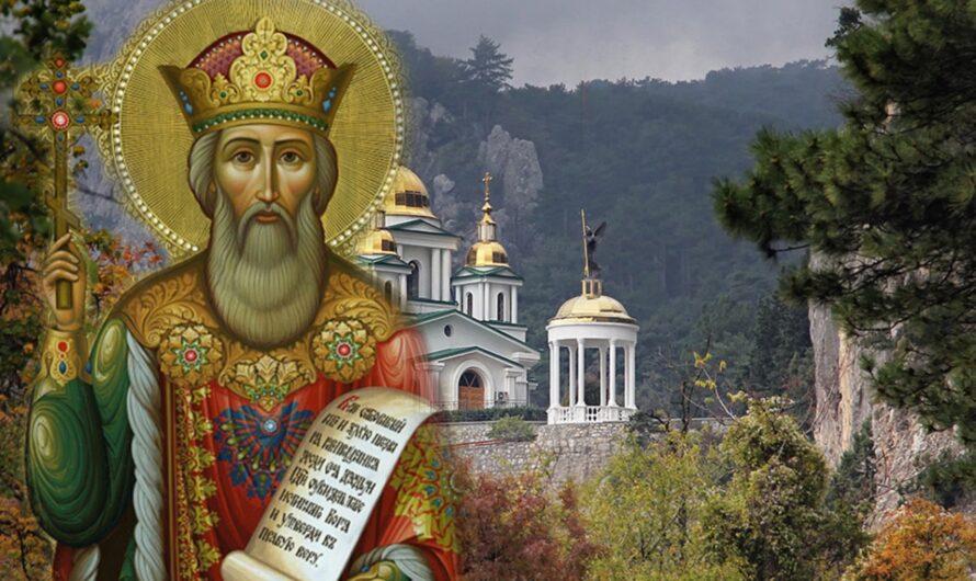 Краткое житие святого равноапостольного великого князя Владимира
